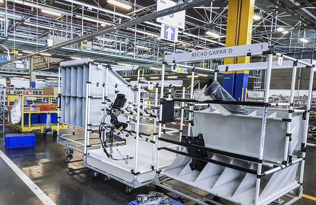 Lean Manufacturing - modular structures