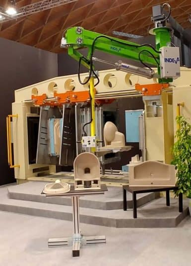 Co se týče řešení pro sanitární manipulaci, INDEVA je špičkou v řadě, protože může zaručit bezpečnost, ergonomii a produktivitu, jako dnes není k dispozici žádný jiný manipulátor, facilitátor ani zvedací zařízení.