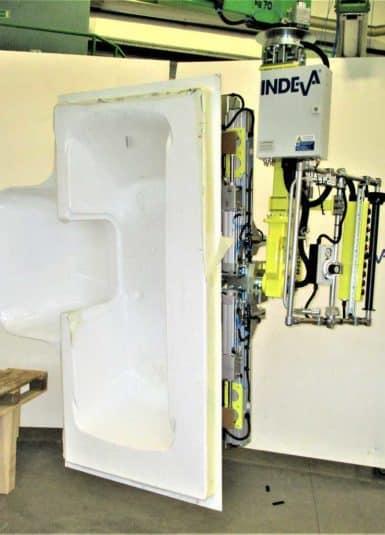 Průmyslové manipulátory nabízené firmou INDEVA si stále více vybírají společnosti pro manipulaci s nákladem z různých důvodů. Jsou samovyvažující, a proto umožňují manipulaci se sanitární technikou v naprosté bezpečnosti, i když se hmotnost liší.