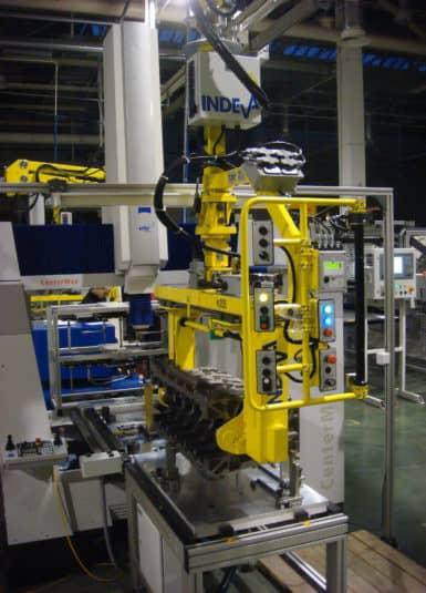 Průmyslové manipulátory INDEVA, reagují na potřeby kvalitního a bezpečnostního produktu, proto mnoho společností přijalo tento systém pro pohyb endotermických motorů. Systémy INDEVA jsou vybaveny standardními držadly a automatickým nastavovacím zařízením pro rukojeti, které umožňují obsluze udržet ergonomickou polohu během celého pracovního cyklu, což zajišťuje, že pohyby jsou vždy tekuté.