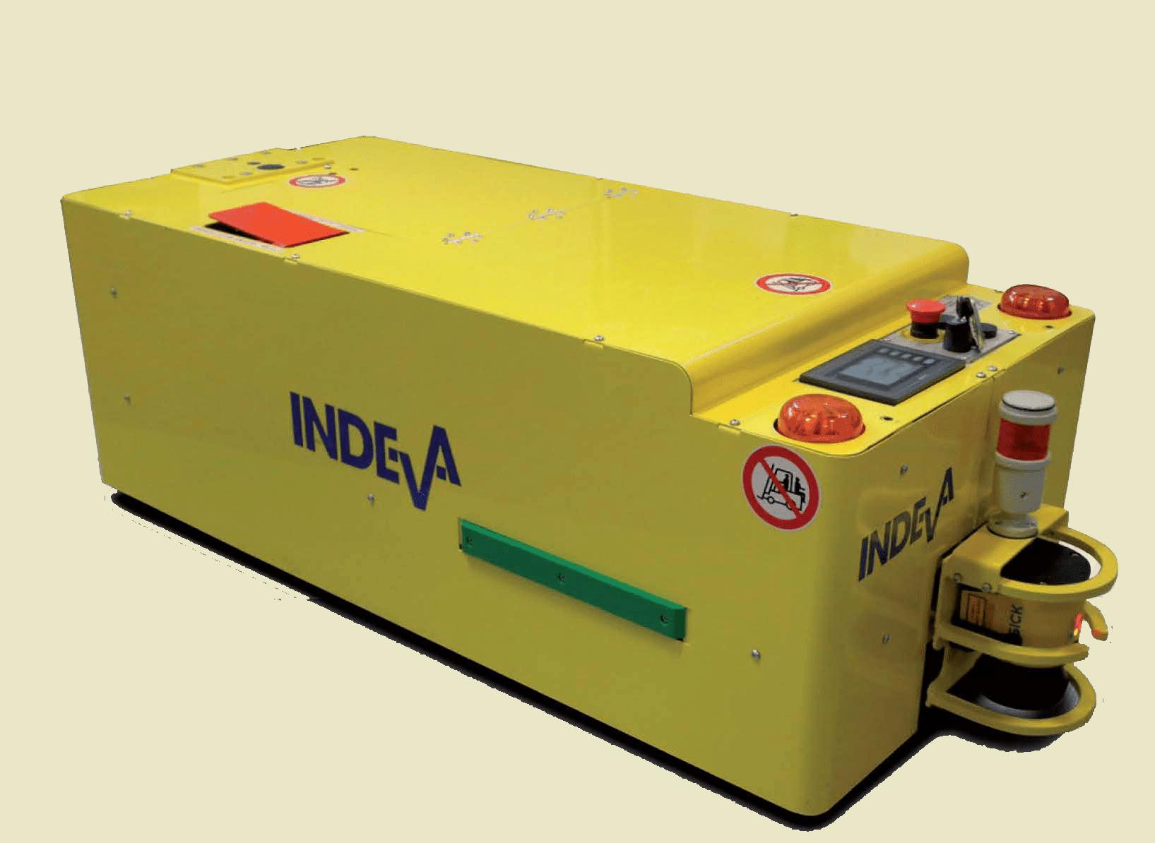 agv.indeva-tunnel - automaticky řízených vozidel