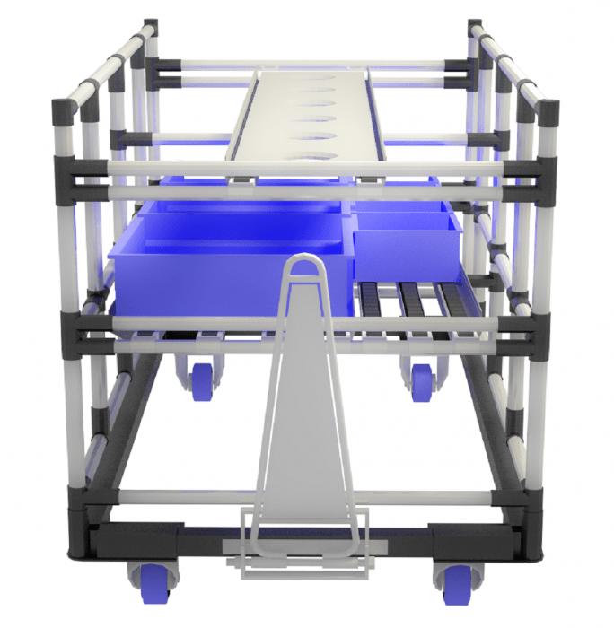 Modulární tažné vozíky