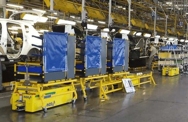 AGV INDEVA urychlí výrobní proces a vyhne se opakovaným operacím.