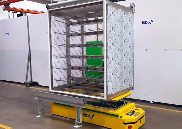 AGV pro zatížení do 650 kg