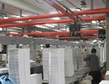 INDEVA Industriemanipulatoren zur Handhabung von Papier in absoluter Ergonomie und Sicherheit und zur Steigerung der Produktivität in Unternehmen.