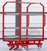 Trolleys - intralogistics systems